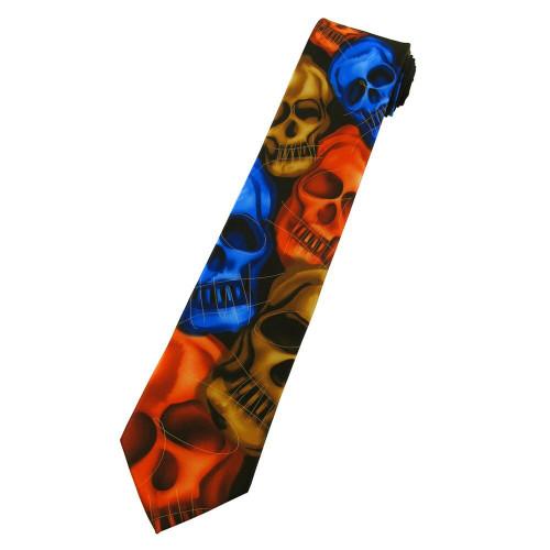 Jerry Garcia Plague Entity Tie / #8097