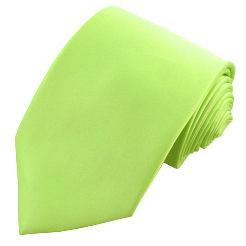 Lime Green Polyester Ties
