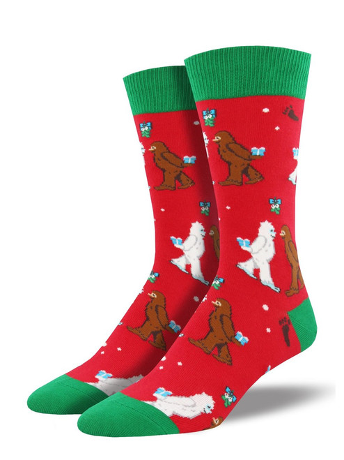 Men's Mythical Kissmas Crew Novelty Socks