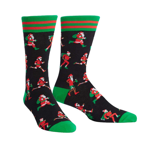 Men's Santa Run Christmas Socks