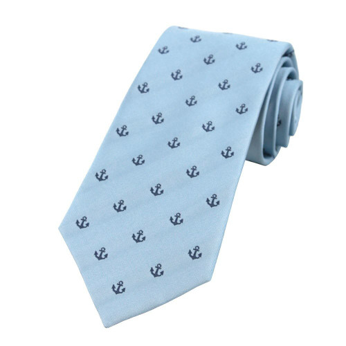 Blue Anchors Away Tie