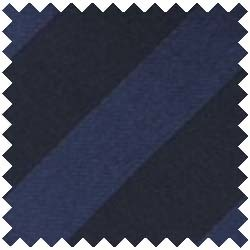Satin Stripe Navy