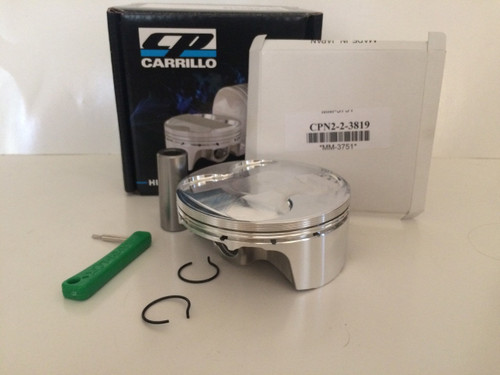 CP Pistons: 04-09 Kawasaki KX250F 77mm 14.2:1 Platinum MX Series Piston