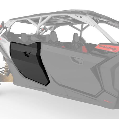Aluminum Rear Half Doors for Maverick X3 MAX