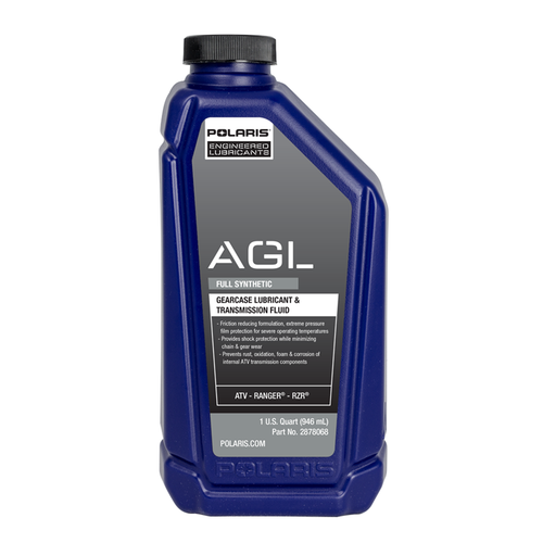 2878068: Polaris AGL Automatic Gearcase Lubricant and Transmission Fluid (1 Quart)