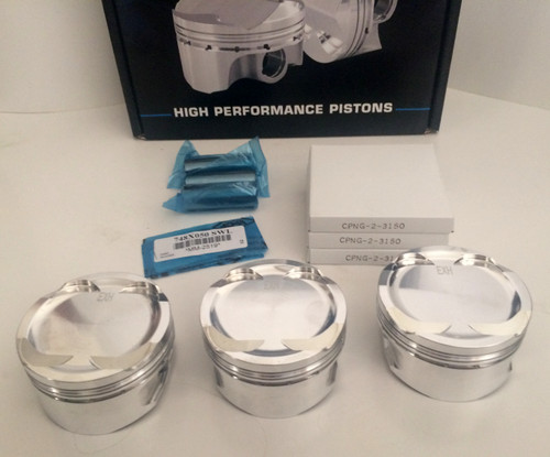 CP Pistons: 05-15 Sea Doo RXP 215 / 255 / 260 Pistons (Set of 3)