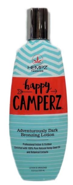 Hempz Happy Camperz Indoor Outdoor Tanning Lotion 8.5 oz.