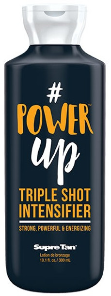 Supre # Power Up Triple Shot Intensifier Tanning Lotion 10.1 oz
