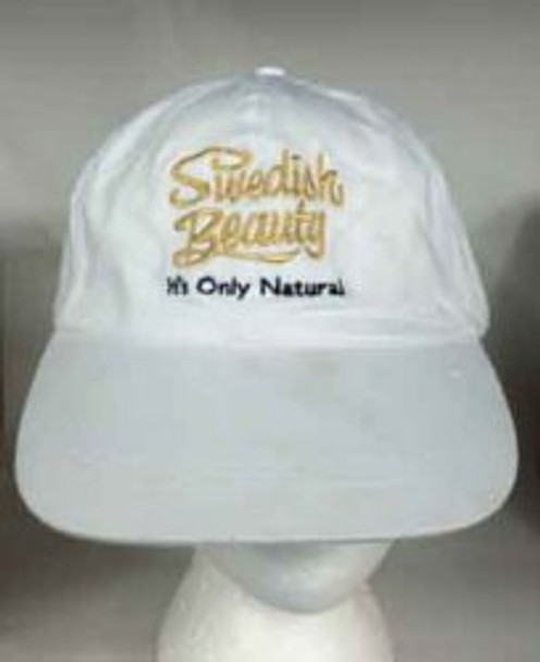 SB White Its only Natural Hat