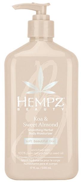 Hempz Koa and Sweet Almond Moisturizer 17 oz