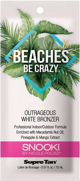 Snooki Beaches Be Crazy Outrageously White Bronzer Packet