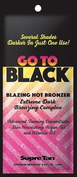 Supre Go to Black Blazing Hot Bronzer Packet