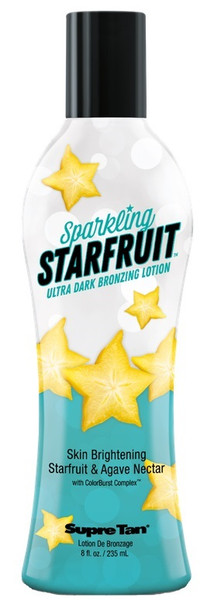 Sparkling Starfruit Dark Bronzing Lotion 8 oz
