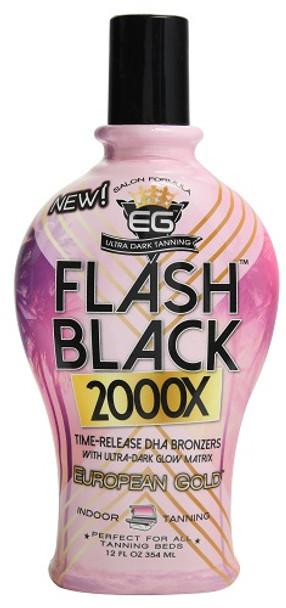 Flash Black 2000X DHA Bronzer 12 oz