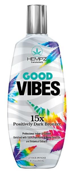 Hempz Good Vibes 15X Dark Bronzer 8.5 oz.