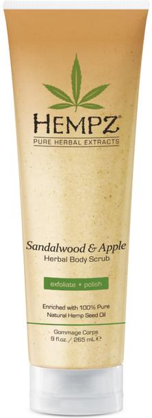 Hempz Sandalwood Apple Scrub