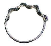 Aspis Collection Snake Bangle Bracelet