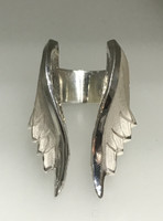 Angel Wing Ring in Sterling Silver