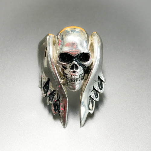 Angel Wing and Skull Ring