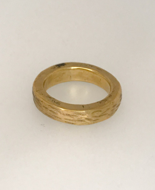 Chunky Stackable Bronze Ring