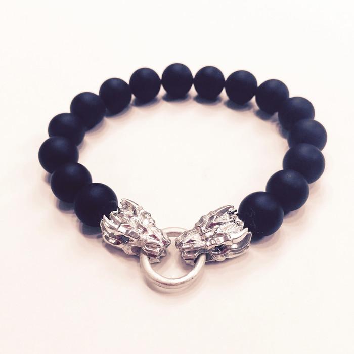 DraKo Collection Mini Dragon Bead Stretch Bracelet