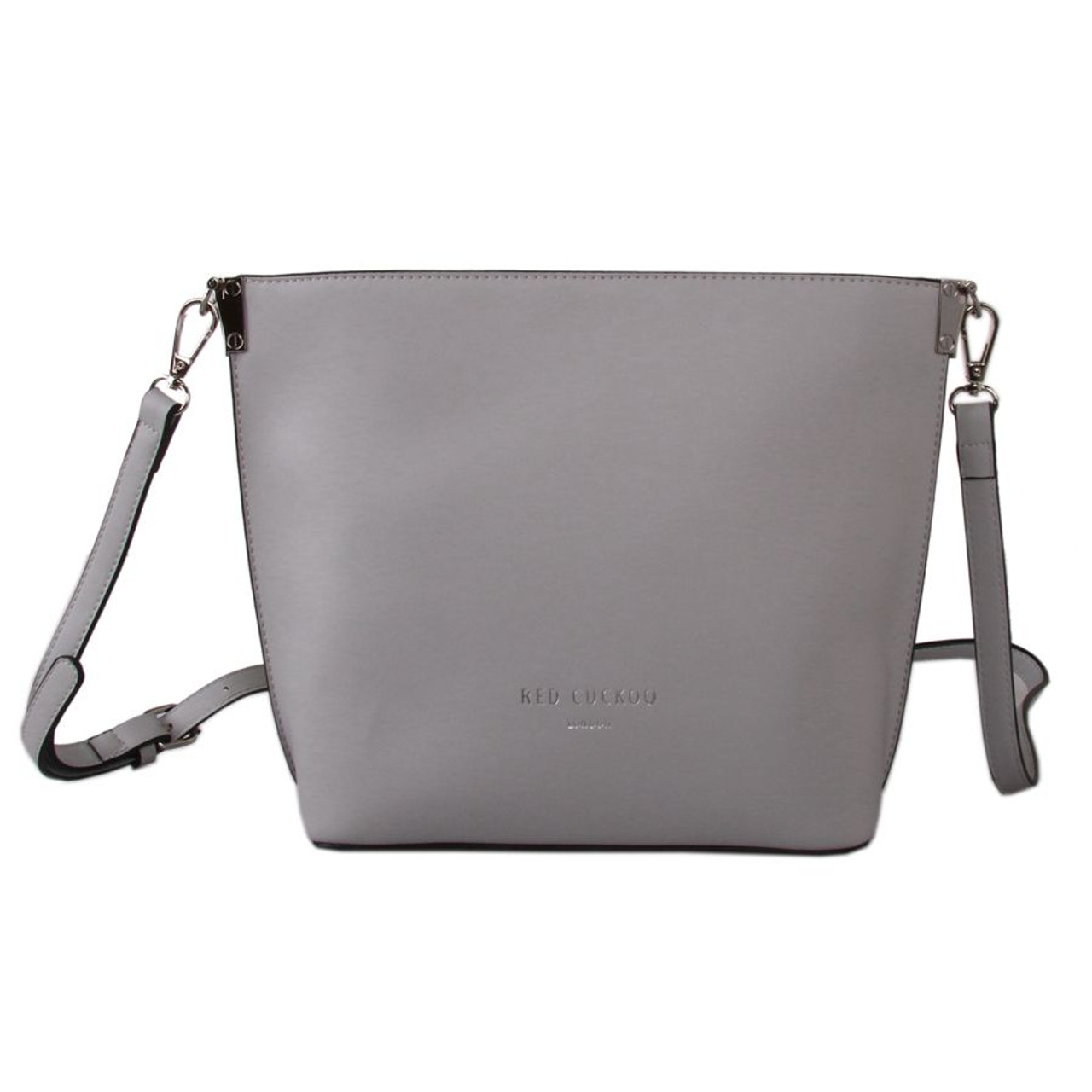 64d93bff9f1b Red Cuckoo Grey Square Cross Body Bag - Itsy Bitsy Boutique