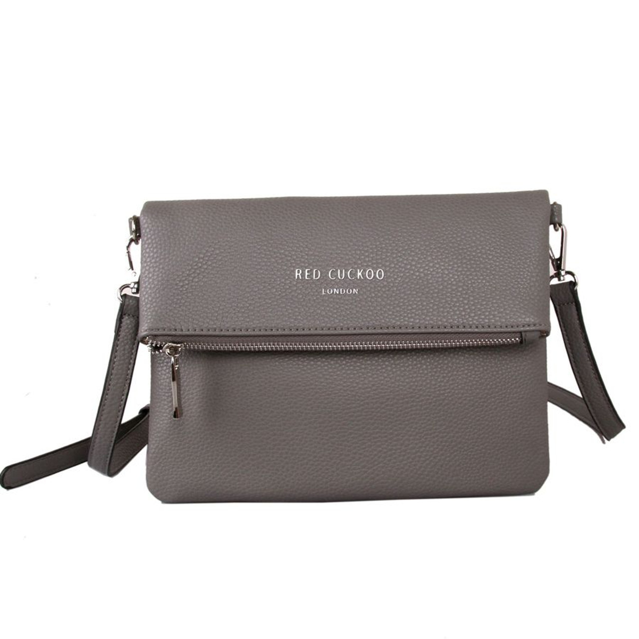 c8c2a3e38c84 Red Cuckoo Grey Cross-Body Bag - Itsy Bitsy Boutique