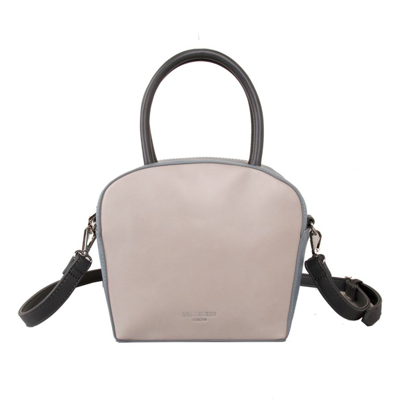 84380d56db3de Red Cuckoo Small Silver Two Tone Grab Bag - Itsy Bitsy Boutique