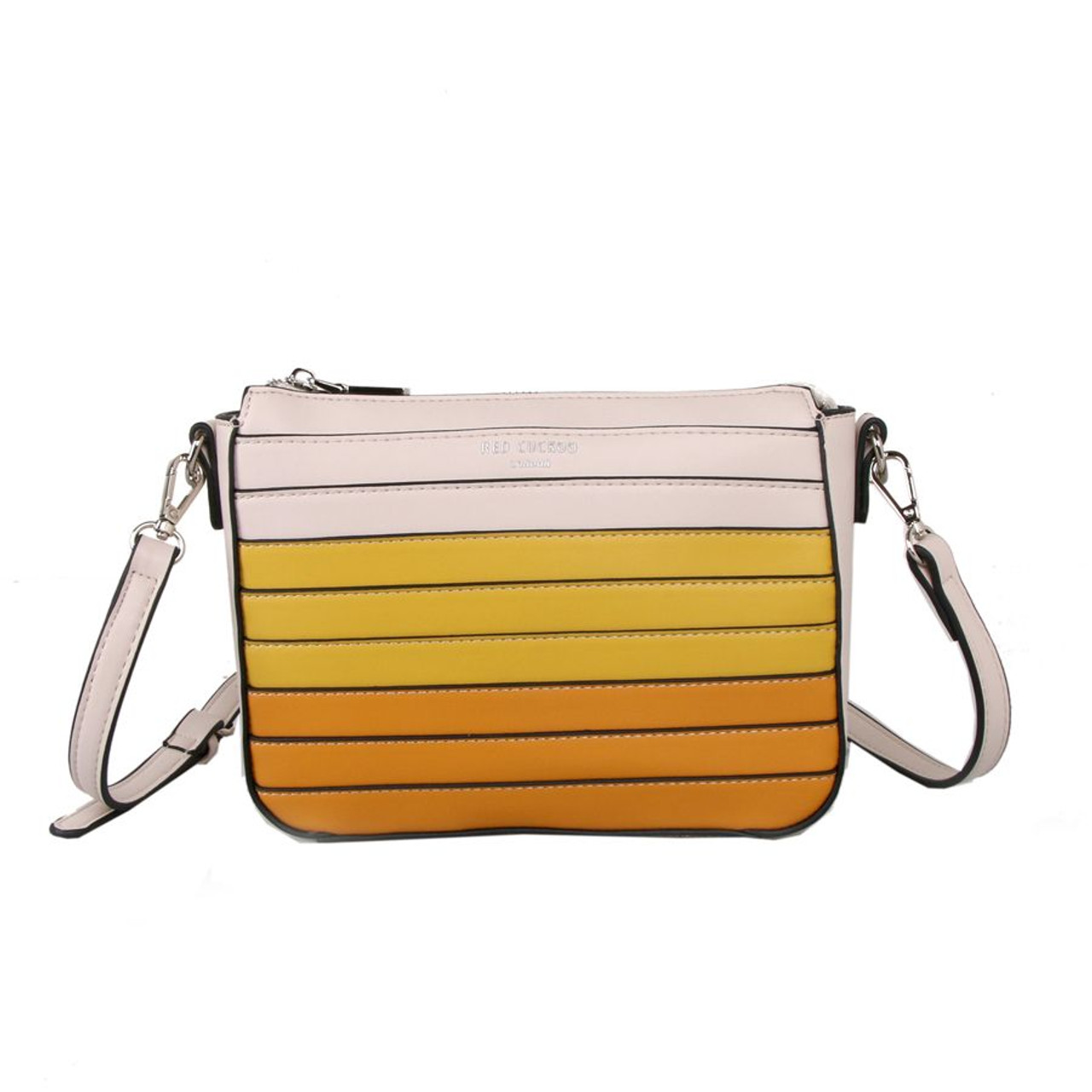 d714f9994263 Red Cuckoo Yellow Cross Body Bag with Ombre Gradient Effect