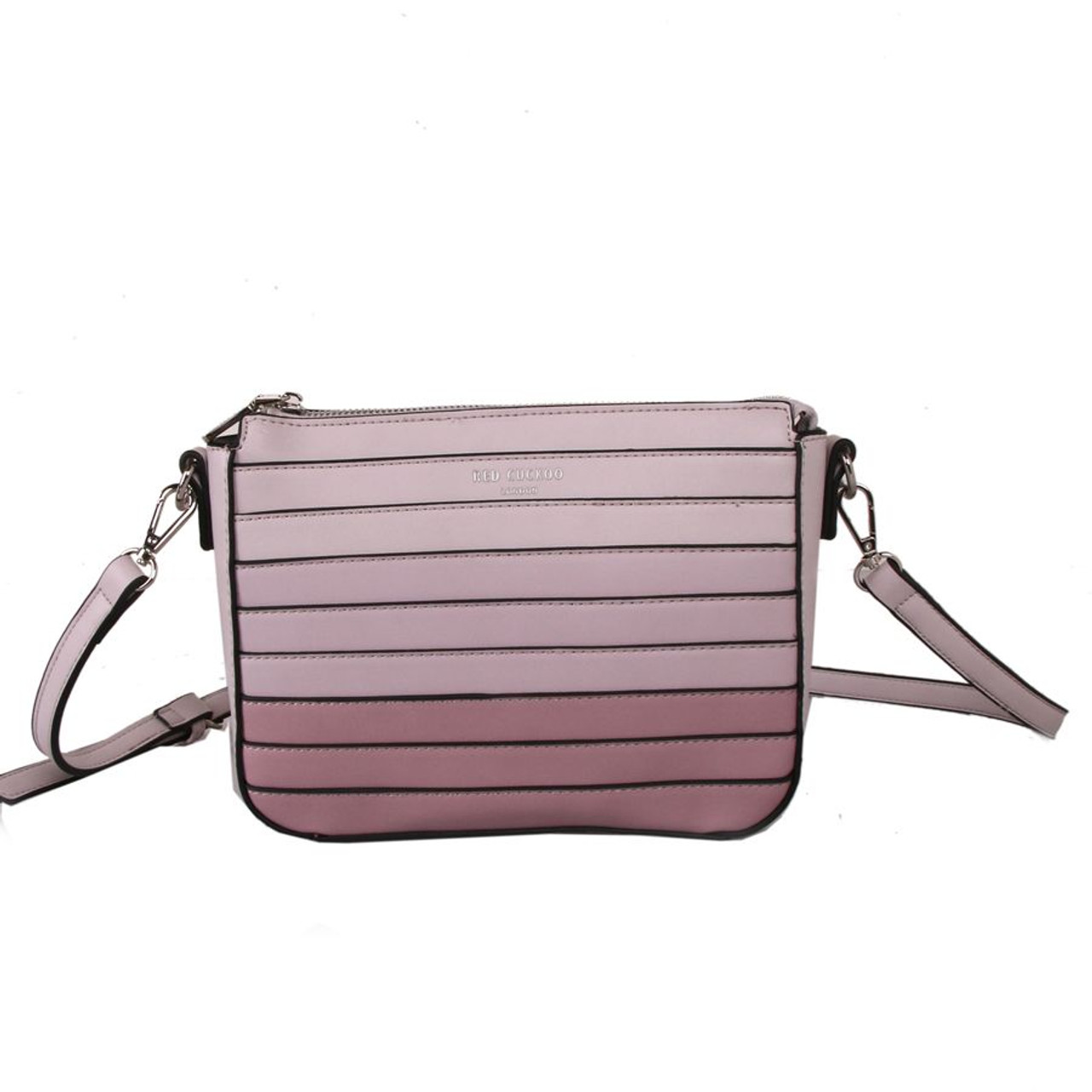 77a79da6b9b Red Cuckoo Pink Cross Body Bag with Ombre Gradient Effect - Itsy ...