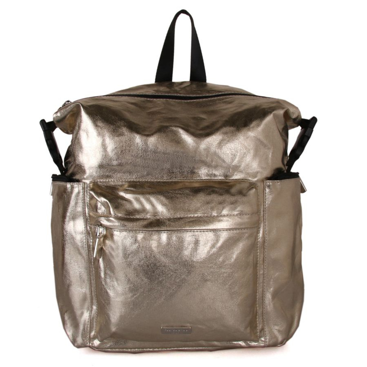 b6efe00bfc9 Red Cuckoo Metallic Gold Backpack - Itsy Bitsy Boutique