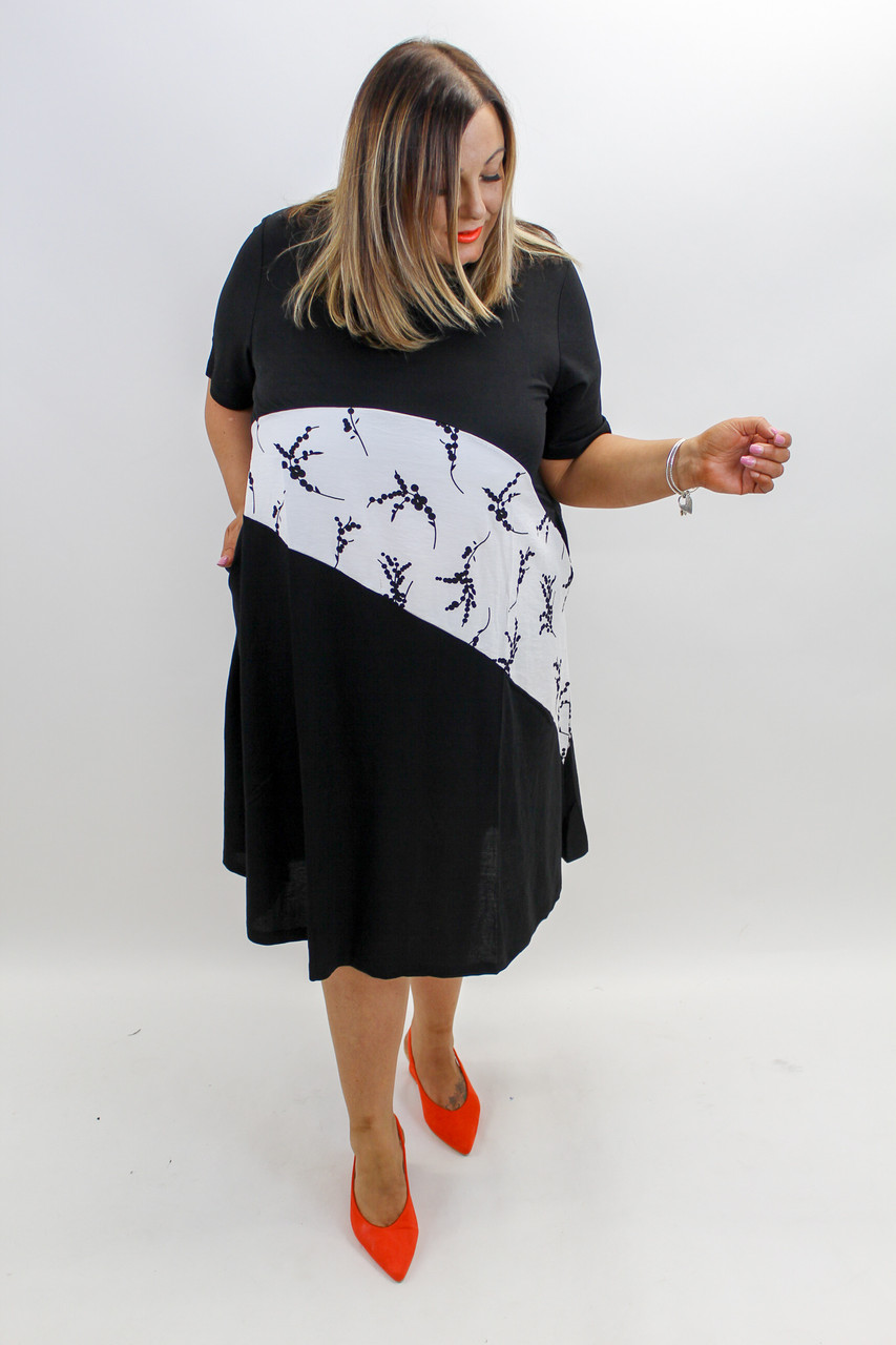6ff84bc048b Layne Cotton Tunic in Black - Itsy Bitsy Boutique