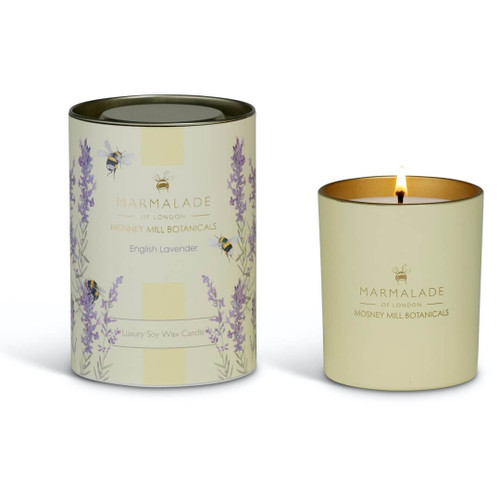 Marmalade of London & Mosney Mill English Lavender Glass Candle