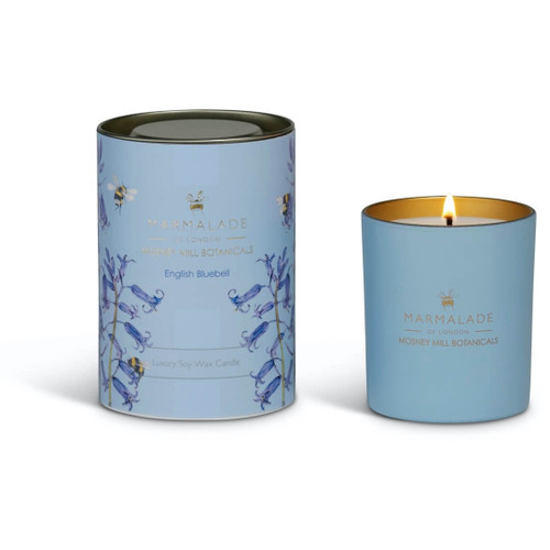 Marmalade of London & Mosney Mill English Bluebell Glass Candle