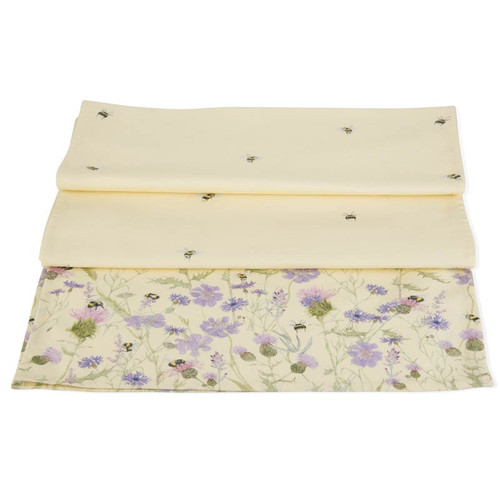 Mosney Mill Bee & Flower Table Runner