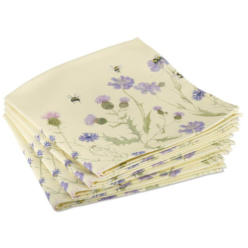 Mosney Mill Bee & Flower Napkins