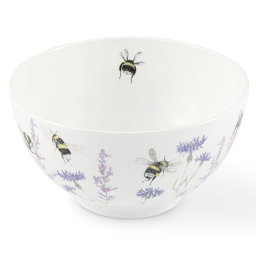 Mosney Mill Bee & Flower Open Sugar/Nibbles Bowl