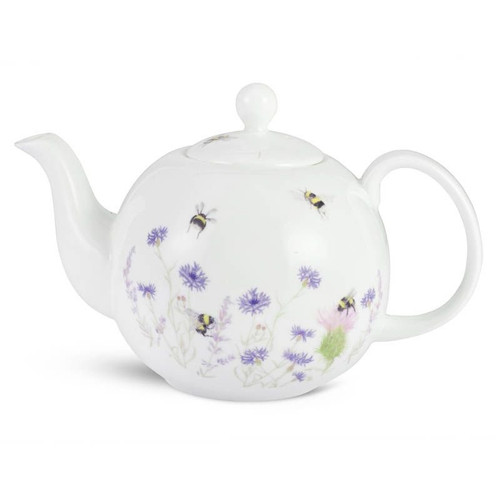 Mosney Mill Bee & Flower Teapot