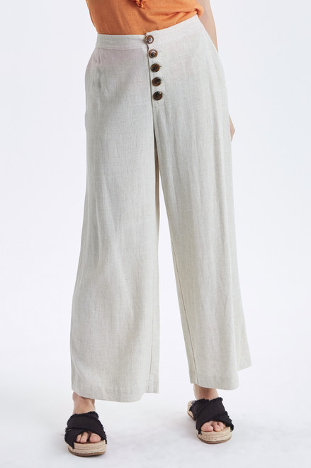 Johanna Linen Trousers by b.young