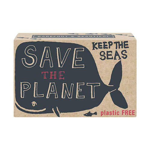 Barefoot & Beautiful Blackberry & Rhubarb Soap Bar | Save The Planet