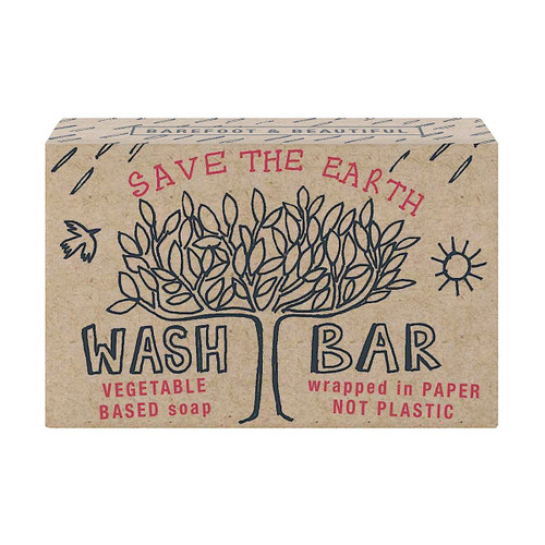 Barefoot & Beautiful Fresh Bergamot Soap Bar | Save The Earth