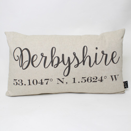 Derbyshire Co-ordinates Cushion by Jola