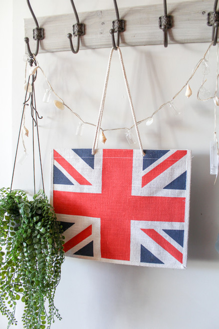 Union Jack Canvas Shopping Bag