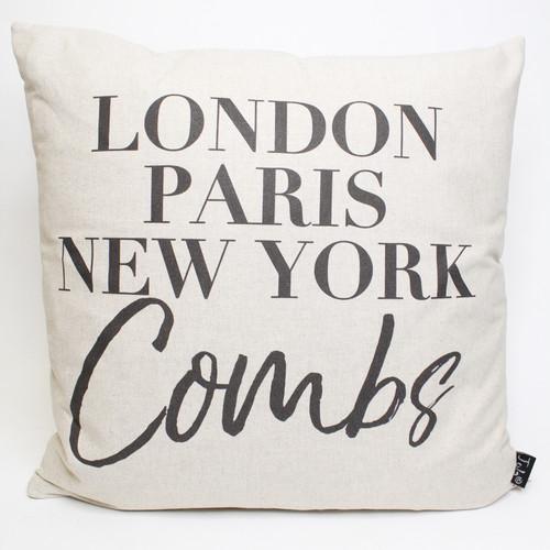 Combs Cushion by Jola