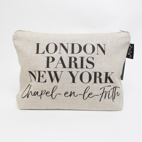 Chapel-en-le-Frith Makeup Bag by Jola
