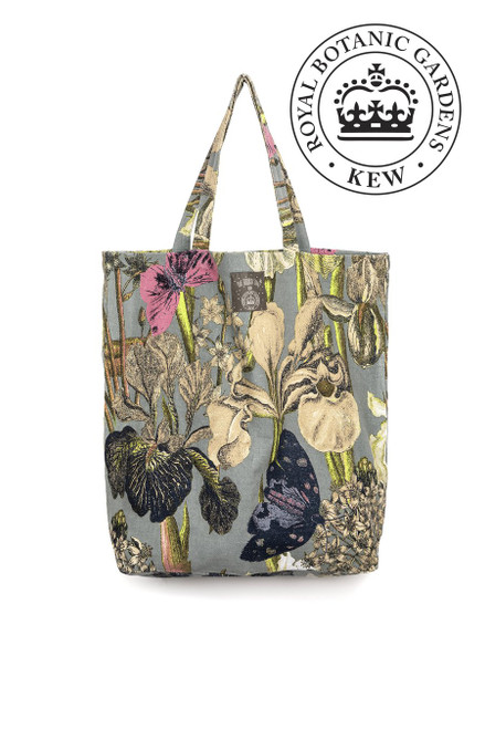 One Hundred Stars Kew Iris Grey Bag