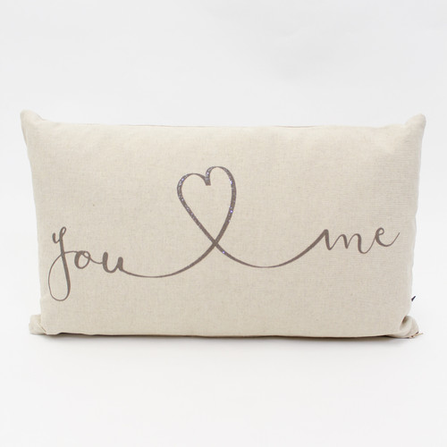 You Love Me Cushion by Jola