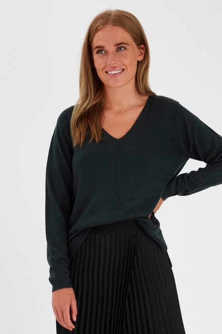 Malea V Neck Jumper by b.young