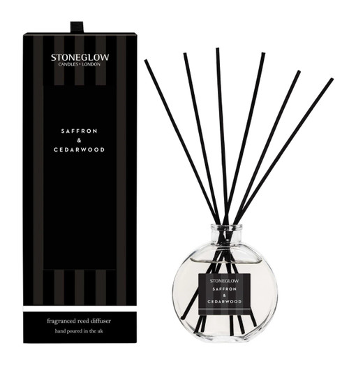 Stoneglow Limited Edition Saffron & Cedarwood Reed Diffuser