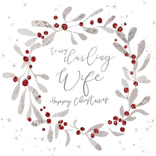 Christmas Cards   To My Darling Wife
